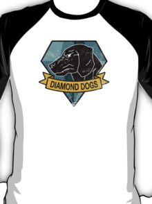 METAL GEAR SOLID - DIAMOND DOGS WHITE T-SHIRT T-Shirt