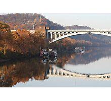 Paddle Wheel Boats under Washington's Crossing Photographic Print