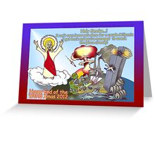 Happy End of the World Xmas 2012   Greeting Card