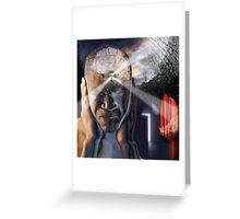 It's all in your head sir!  Greeting Card