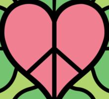 Peace, love & Unity Sticker