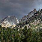 Sawtooth Peaks by TeresaB