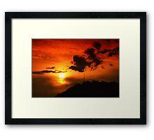 Red Sky II Framed Print