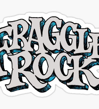 Fraggle Rock Vintage Style in WHITE  Sticker