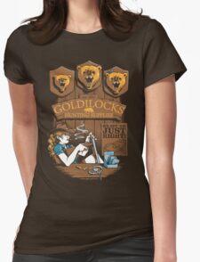 Goldilocks Hunting Supplies Womens Fitted T-Shirt