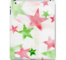 Air Brush Star Pattern iPad Case/Skin