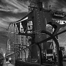 Sydney  Harbour Bridge by Doug Cliff
