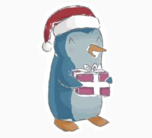 christmas penguin! Kids Clothes