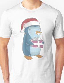 christmas penguin! Unisex T-Shirt