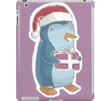 christmas penguin! iPad Case/Skin