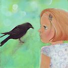 Girl and Raven: a love story by Helga McLeod