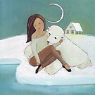 Love story: a bear and his girl by Helga McLeod