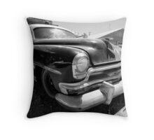 Seligman Police Car Throw Pillow