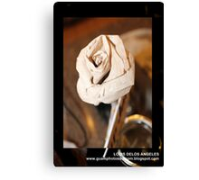 Origami Flower Canvas Print