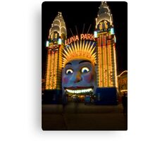 Luna Park, Sydney NSW Canvas Print
