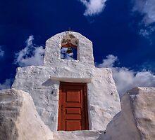 Small traditional Greek chapel by Antonis Lemonakis