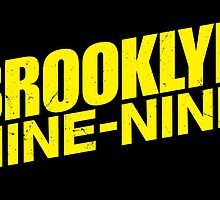 brooklyn nine nine by Annabel Davies