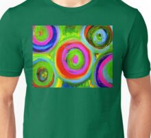 Mixed Media Circles  Unisex T-Shirt