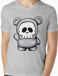Death Bear Mens V-Neck T-Shirt