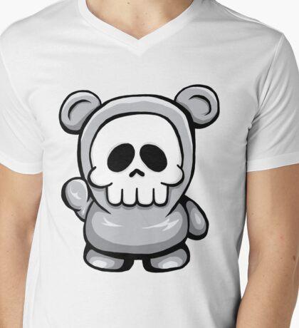 Death Bear Mens V-Neck T-Shirt