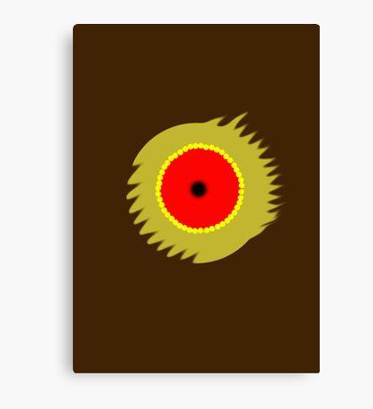 Blurred Bullet Canvas Print