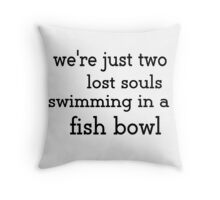 Pink Floyd - Two lost souls... Throw Pillow