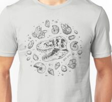 Geo-rex Vortex (dark gray design) Unisex T-Shirt