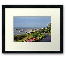 August Morning ~ Lyme Regis Framed Print