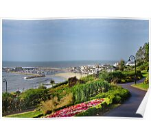August Morning ~ Lyme Regis Poster