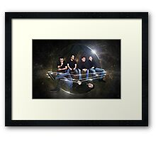 The Scrap Pack Framed Print