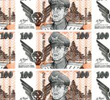 Bison Dollars Sticker
