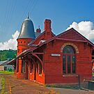 The Baltimore & Ohio Station, Oakland, Maryland by Bryan D. Spellman