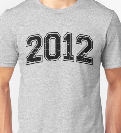 2012 Varsity Letters Unisex T-Shirt