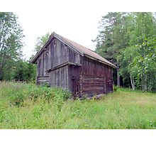 Old Mountain Pasture Barn  Photographic Print