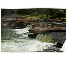 Valley Falls State Park, West Virginia Poster