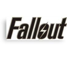 Fallout Merch Canvas Print