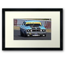 Tough Ford Falcon XY GT Framed Print