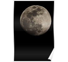 Lunar Surface Poster