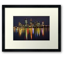 CARNAVAL REFLECTIONS Framed Print