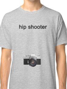 Digital camera isolated on white background DSLR on T-Shirt Classic T-Shirt