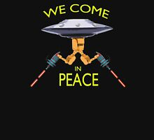 We Come in Peace Design T-Shirt