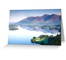 Skiddaw from Surprise View Greeting Card