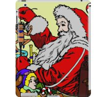 Vintage Santa and lots of toys (full color) iPad Case/Skin