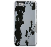Grey Shadows Of Leaves iPhone Case iPhone Case/Skin