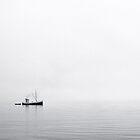 Fishing Boat in the Fog by David Davies