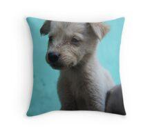 Puppy! Throw Pillow