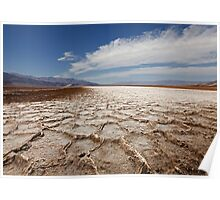 Devil's Speedway, Badwater Basin, Death Valley Poster