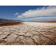 Devil's Speedway, Badwater Basin, Death Valley Photographic Print