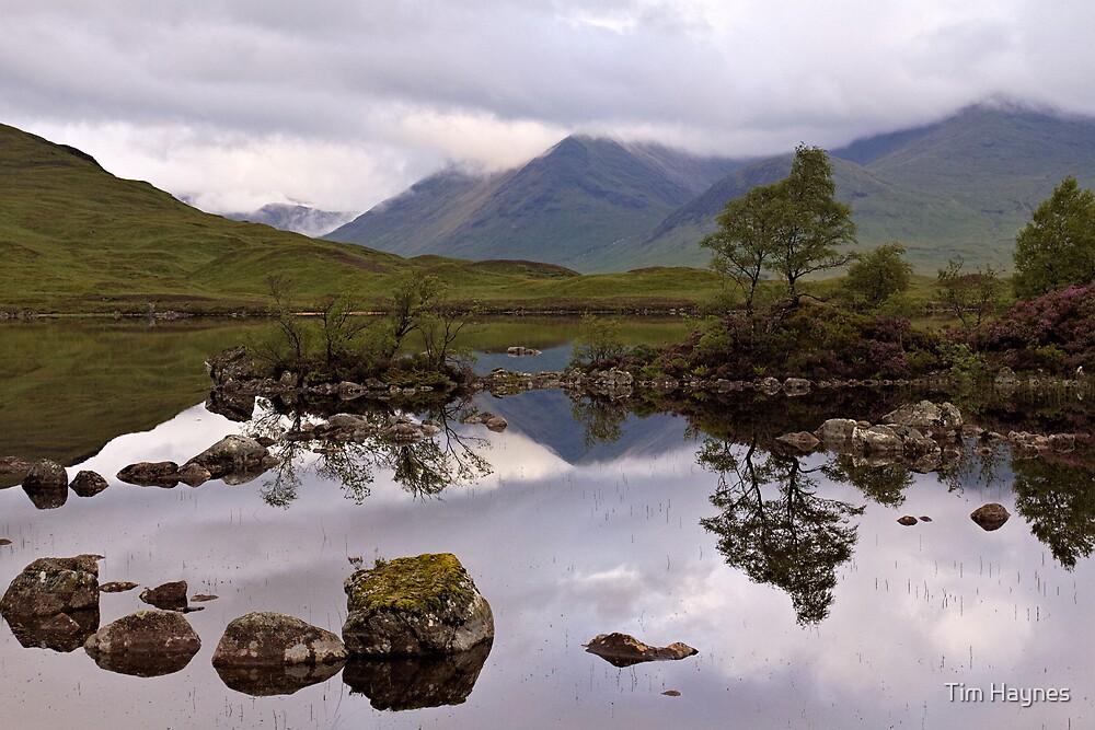 Lochan na h'Achlaise by Tim Haynes