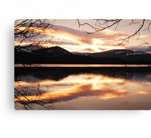 Morlich sunset Canvas Print